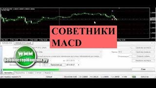 Советник MACD на дивергенции + macd sample + Stoch MACD Martingale