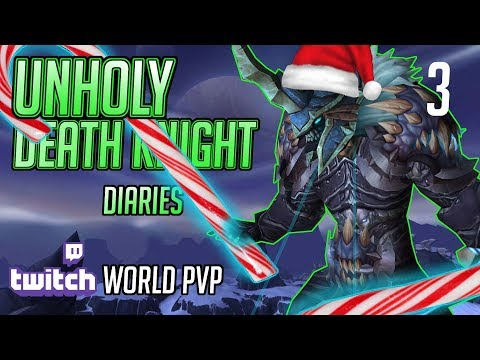 Unholy Death Knight   8.2.5 World PVP   Krampus Time