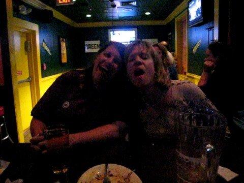 Fairfax bar crawl, Hard Times, karaoke
