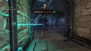 Quake Champions (47 frags) Instagib | Reaction | Rail gun Deathmatch Gameplay
