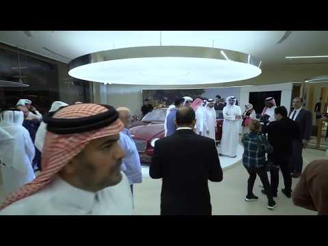 New Bentley Continental GT reveal event in Doha, Qatar.