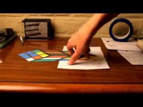3D рисунки на бумаги