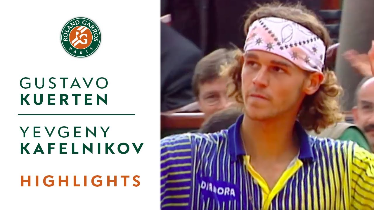 Gustavo Kuerten v Yevgeny Kafelnikov Highlights Men s