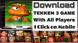 how to download Tekken 3 for android