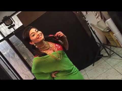 Exclusive Model Photoshoot Video