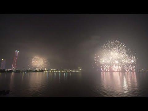 Macao-Zhuhai Fireworks Show Live Feed