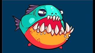 СЪЕШЬ МЕНЯ    Веселая рыбная андроид игра похожая на СЛИЗАРИО Видео для детей EATME IO