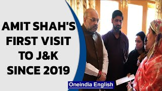 Amit Shah visits Kashmir for first time since abrogation of #Article370 | Oneindia News