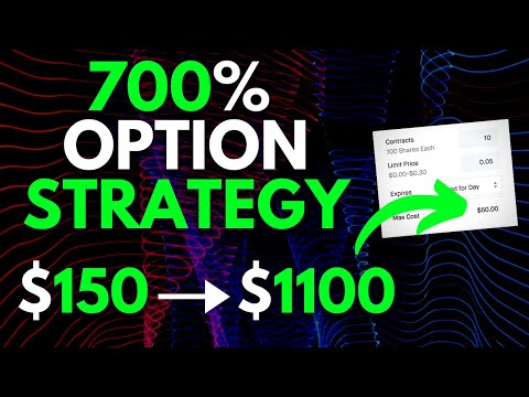 INSANE 700% OPTION TRADING STRATEGY THAT'S VERY CHEAP! | TRADING OPTIONS