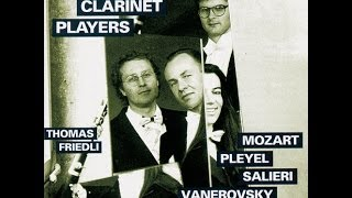 Swiss Clarinet Players - Anonymous: Ballo Divertissement for Clarinet and 3 Basset Horns