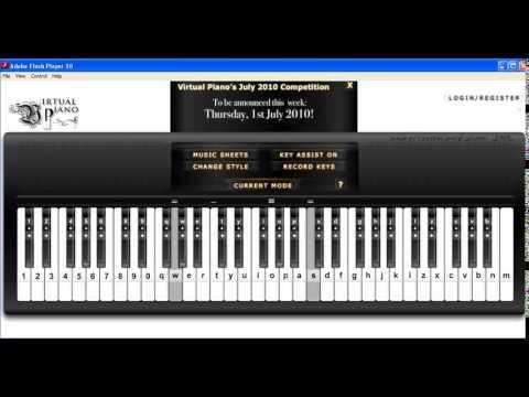 Piano virtual piano chords : Eyes, Nose, Lips - Tae Yang - Virtual Piano with Autokeyboard ...