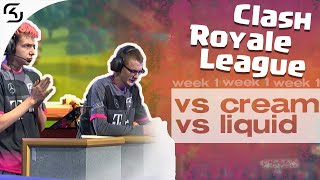 SK VS CREAM & LIQUID | CRL WEST FALL 19 W1 | HIGHLIGHTS