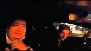 Павел Воля протестировал Tesla по ночной Астане