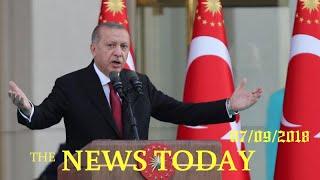 Erdogan Sworn In With New Powers, Promises A