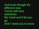 I miss you - Miley Cyrus