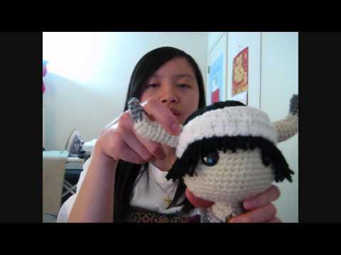 Crocheted Ico Sackboy Doll