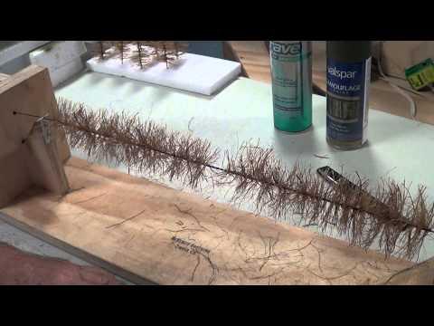 Bottle Brush Tree Making