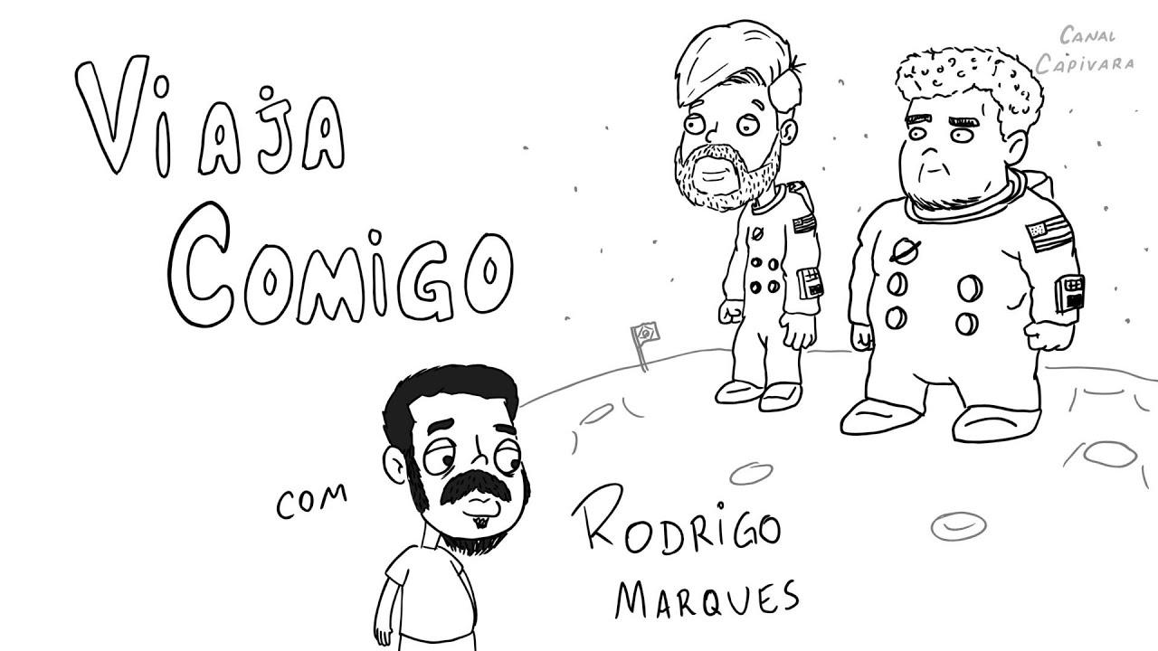 UM DIA NORMAL COM RODRIGO MARQUES - Nando Viana e Victor Ahmar - Viaja Comigo podcast