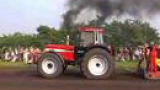 tracteur pulling case ih 1455