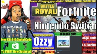 Nintendo Switch Getting Fortnite?
