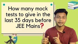 Kitne Mock Test Dene se Jee Main mai 99 Percentile Marks aa Skte hai #youtubeshorts #short #jee