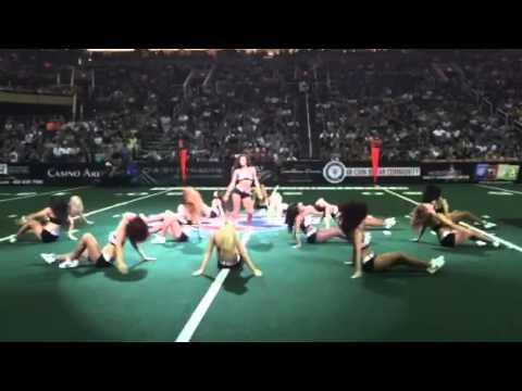 Arizona Rattlers Football Dancing Player