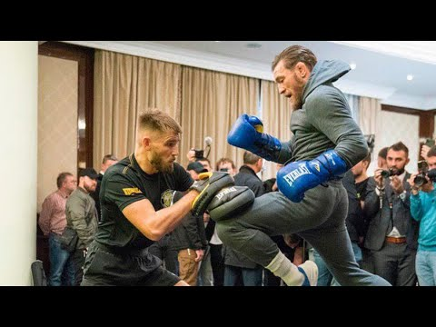 """Conor McGregor: """"Play the Russian National anthem for me please"""" 