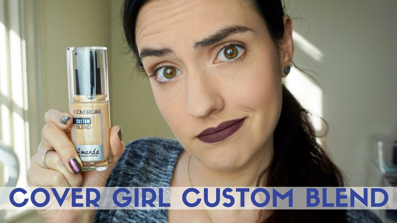 CoverGirl Custom Blend Foundation | Review + Demo