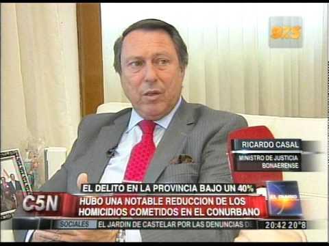 C5N - SOCIEDAD: EL DELITO EN LA PROVINCIA BAJO UN 40%