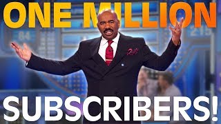 1M SUBSCRIBERS!! Best clips and COPULATIONS?? Did Steve Harvey mess up?? | Family Feud