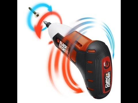 Отвертка аккумуляторная Black&Decker BDCS36G Gyro