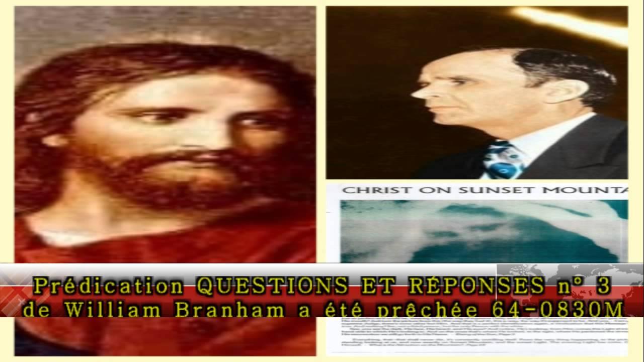 predication de william marrion branham