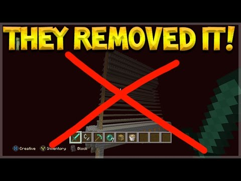 4jStudios REMOVED THIS FEATURE FROM MINECRAFT CONSOLE EDITION!