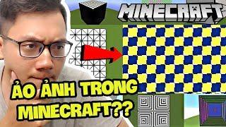 ẢO ẢNH CÓ CẢ Ở TRONG MINECRAFT?? (Sơn Đù Vlog Reaction)