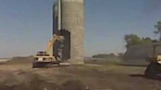 Silo Demolition at the FARM
