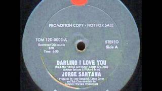 "Jorge santana - Darling I love you (1978) 12"" LP"