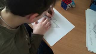 How to draw Rubik