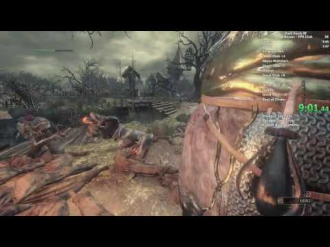 Dark Souls III First Person Exiled Greatsword All Bosses speedrun