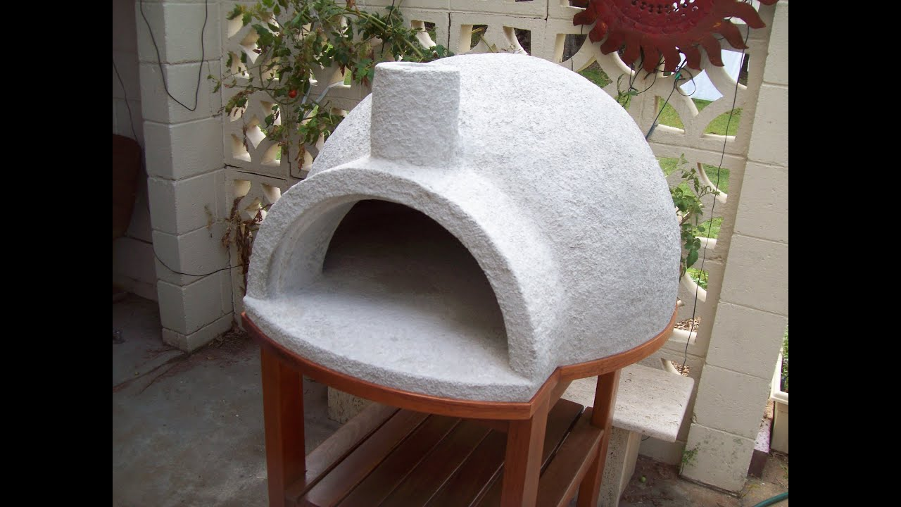 Building Pizza Oven Backyard pizza oven easy build - youtube