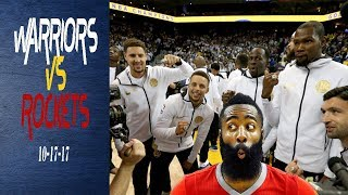 Golden State Warriors vs Houston Rockets ||Breakdown||