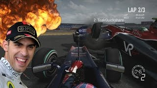 SO MANY CRASHES | F1 2010 Online Races