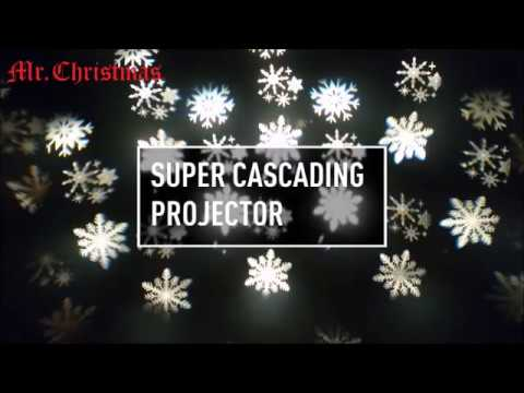 Mr Christmas Projector.60701 Mr Christmas Super Cascading Projector