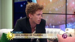 """Erik Hassle: """"Så skrev jag låten till Rihanna och Shakira"""" - Nyhetsmorgon (TV4)"""