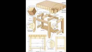 Review Woodworking Plans Desk.avi
