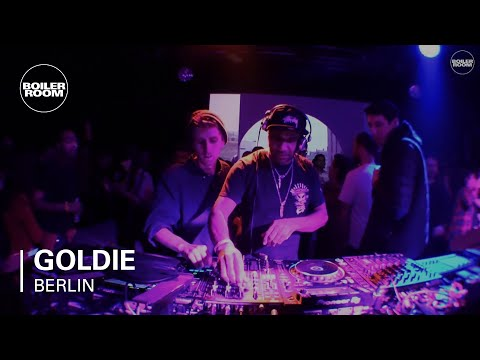 Goldie Boiler Room x T2 Berlin DJ Set (90s Set)