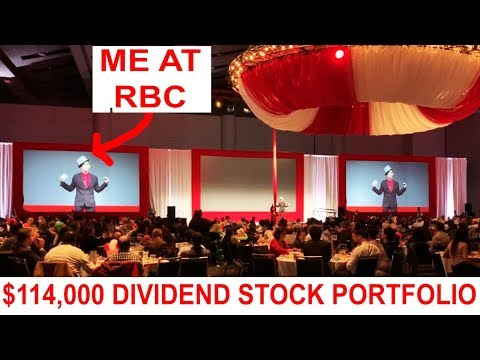 $114,000 Dividend Stock Portfolio - Largest Canadian Bank RBC