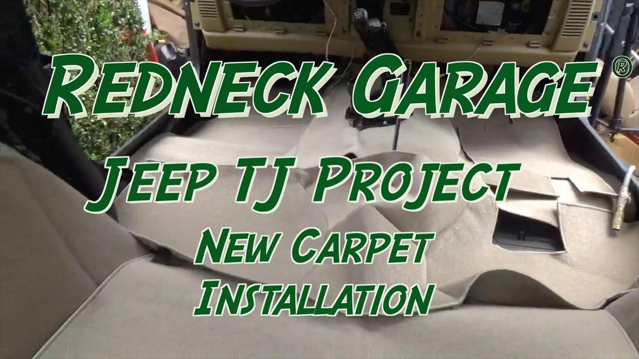 Jeep Wrangler- Seatz Carpet Kit - Installation of ...