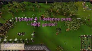 OSRS / NMZ guide for level 1 prayer and defence rangers / Cheap methods