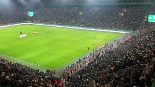 Borussia Dortmund vs Werder Bremen - DFB Pokal 2018/2019 - das Elfmeterschießen