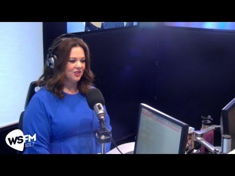 Melissa McCarthy & Ben Falcone with Jonesy & Amanda  WS FM101.7
